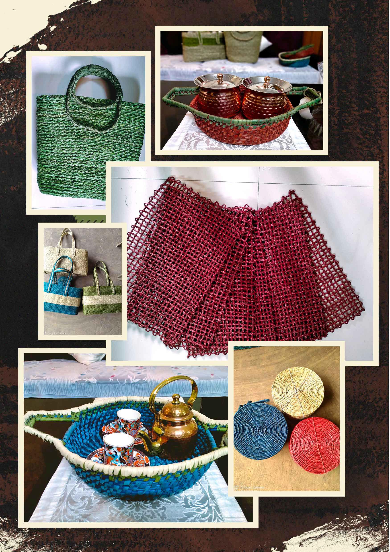 Basket Bags, Mats, Picnic Bags, Bread Baskets